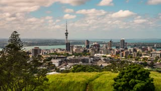 Auckland New Zealand Time Lapse