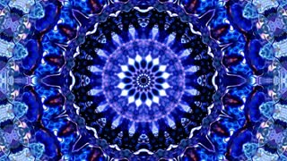 Auroral Ice Mandala