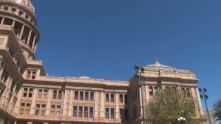 Austin Texas Capitol Pan