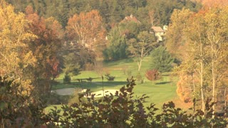 Autumn Golf Course