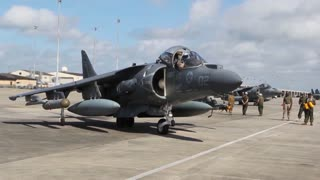 AV-8B Harrier jets
