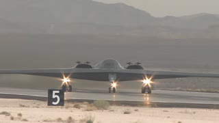 B-2 spirit stealth bomber at Red Flag