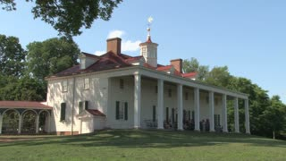 Back of Mount Vernon main house