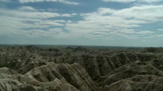 Badlands and Cloud Timelapse