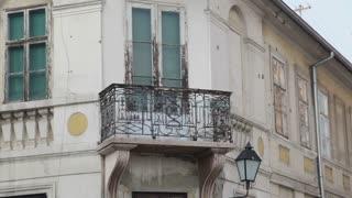 Balcony On Romanian Apartment