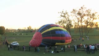 Balloon Inflating Timelapse 2