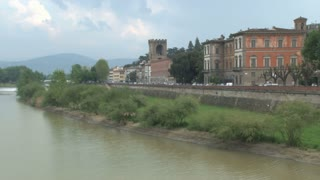 Bank of the Arno Alongside Florence