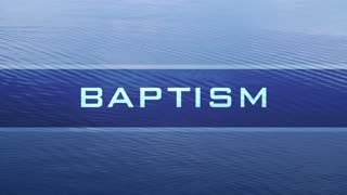 Baptism Water Banner