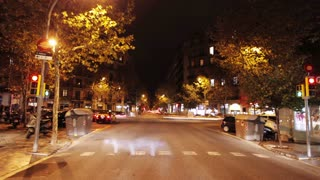 Barcelona Night Drive
