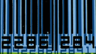 Barcodes Blue