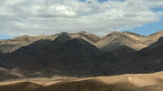 Barren Mountains Clouds Timelapse