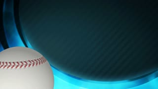 Baseball Title Screen Blue