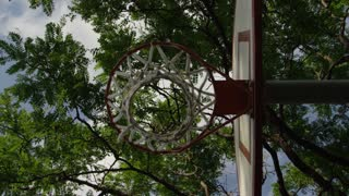 Basketball Hoop - Ball scores with a swish