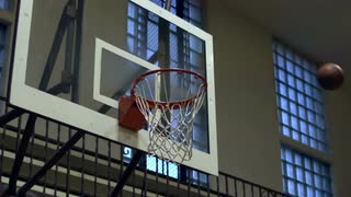 Basketball Shot in Slow Motion 2