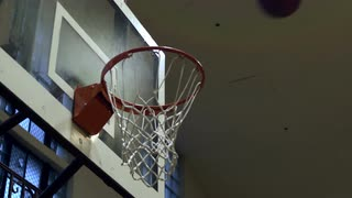 Basketball Shot in Slow Motion 4