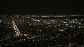 Bay Area City Night Timelapse