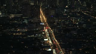 Bay Area Night Traffic