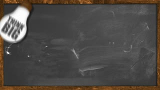 be Creative Looping animation on blackboard
