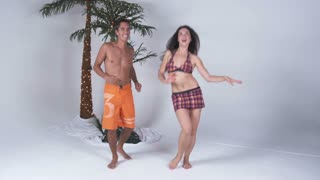 Beach Couple Dancing 3