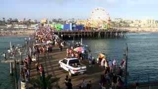 Beach Front Santa Monica Pier TL