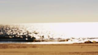 Beach Ocean Blur
