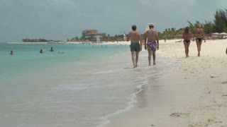 Beach Scene on Turks and Caicos Islands 2