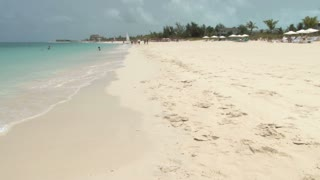 Beach Scene on Turks and Caicos Islands 4