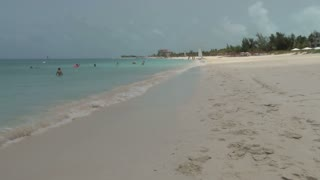 Beach Scene on Turks and Caicos Islands