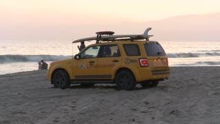 Beach Truck Timelapse