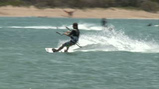 Beach Windsurfing
