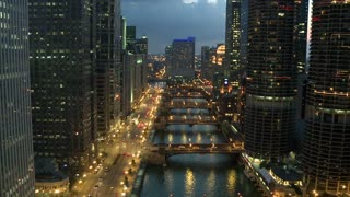 Beautiful Chicago High Rises By River