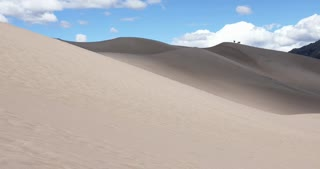 Beautiful day in Great Sand Dunes National Park