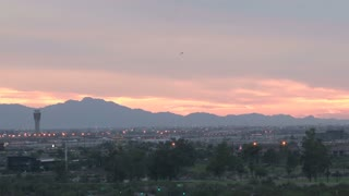 Beautiful Phoenix Landscape at Sunset