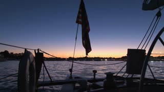 Beautiful Sunset Over Annapolis Boat Show 2