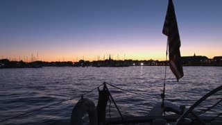 Beautiful Sunset Over Annapolis Boat Show