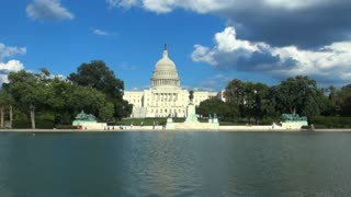 Beautiful View of Capitol From Reflecting Pool