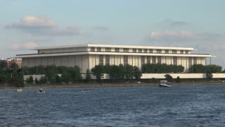 Beautiful Views of the Kennedy Center in DC