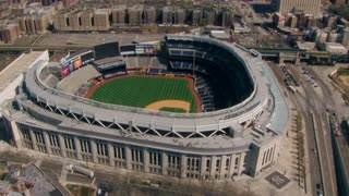 Beautiful Yankee Stadium Aerial View