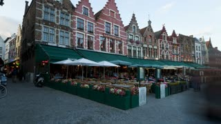 Belgium, Flanders, Brugges, Time lapse, UNESCO world heritage site and a very popular tourist destination