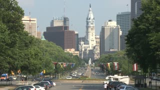 Benjamin Franklin Parkway and City Hall
