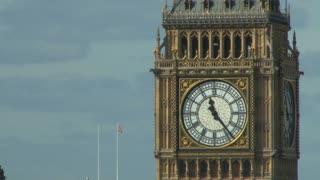 Big Ben Flag In Background 2