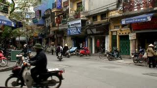 Bikes On Vietnam Street