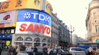 Billboards at Piccadilly Square