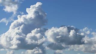 Billowing Cumulus Clouds