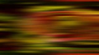 Black and red and yellow horizontal streaks blur across the frame (Loop).