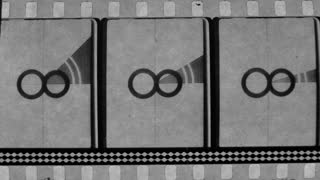 Black And White Reel Countdown