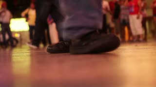 Black shoes dancing 2