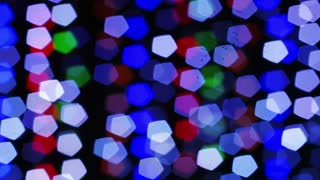 Blinking Bokeh Disco
