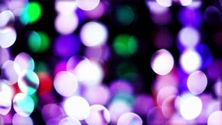 Blinking Bokeh Lights