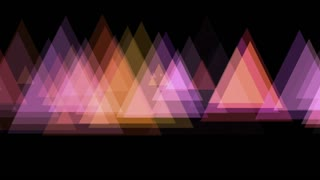 Blinking Triangles Motion Background